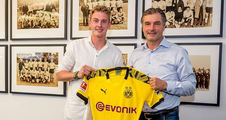 Fix! Borussia Dortmund verpflichtet Julian Brandt