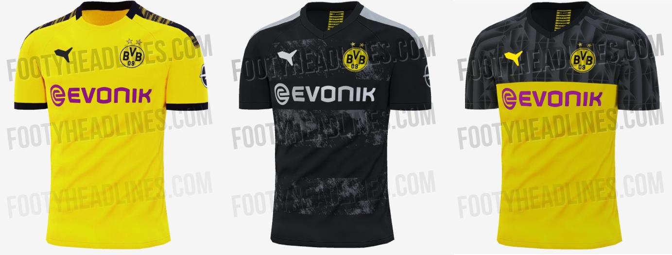 So sehen die neuen BVB-Trikots für die Saison 2019/2020 aus