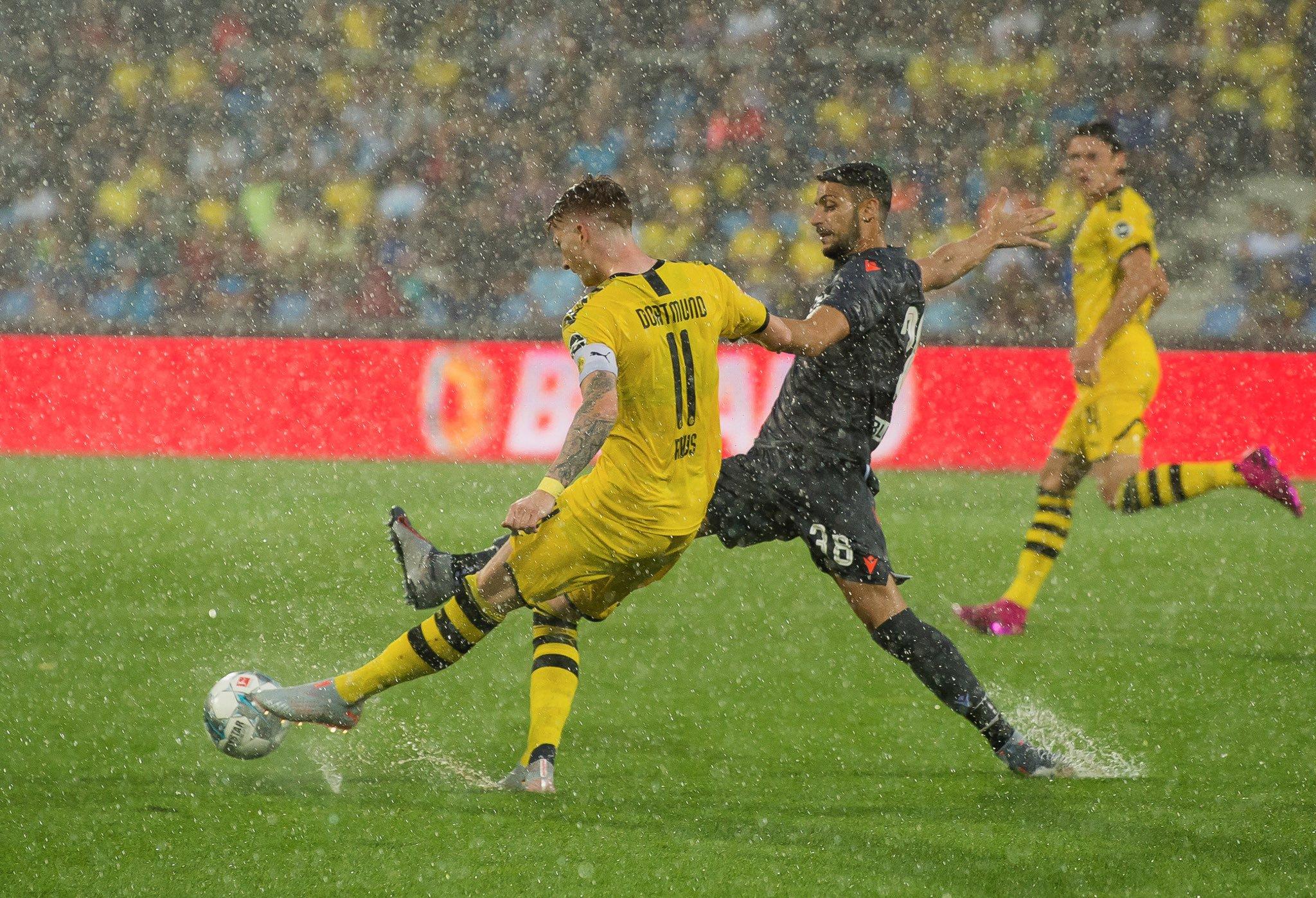 BVB feiert im Regenchaos souveränen Testspielsieg gegen Udinese Calcio
