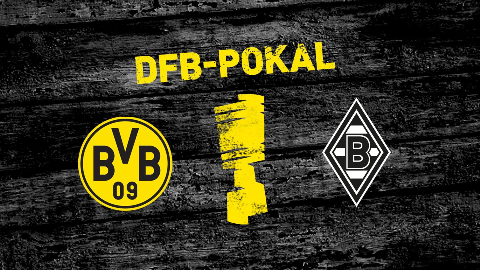 DFB-Pokal: BVB trifft im Westderby auf Borussia Mönchengladbach