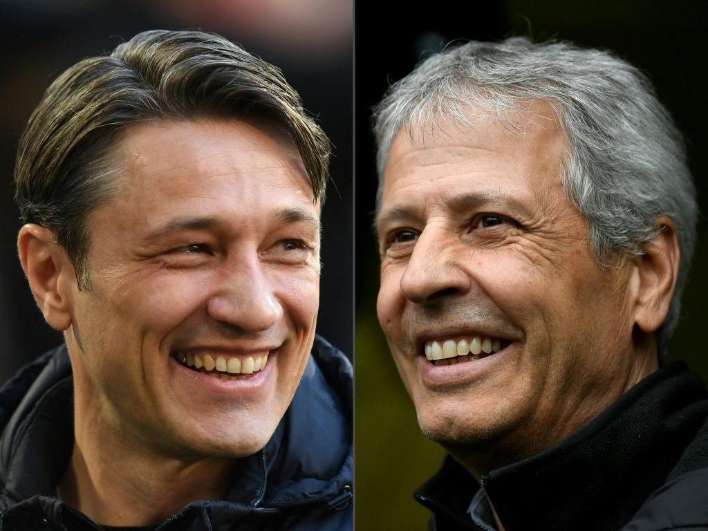 Niko Kovac und Lucien Favre