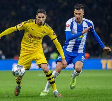 Hertha BSC vs Borussia Dortmund