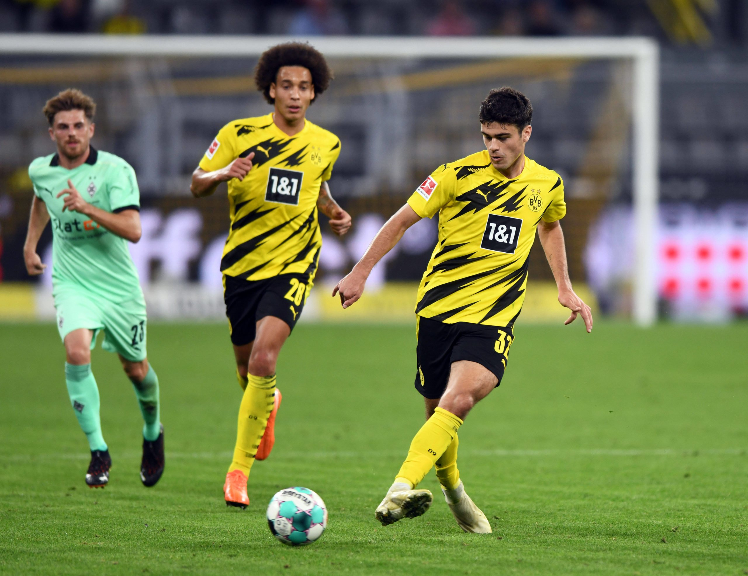 Axel Witsel und Gio Reyna