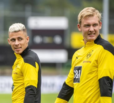Thorgan Hazard und Julian Brandt